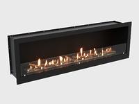 Встроенный биокамин Lux Fire Кабинет 1710 М