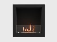 Встроенный биокамин Lux Fire Кабинет 610 M