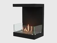 Встроенный биокамин Lux Fire Фронтальный 500 M