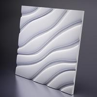 3D панель гипсовая Velvet, Artpole, Россия
