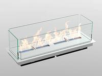 Встроенный биокамин Lux Fire Модуль 600 (2020)