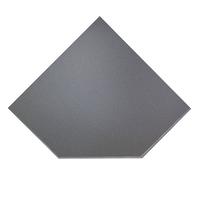 ПРЕДТОПОЧНЫЙ ЛИСТ VPL021-R7010, 1100Х1100, СЕРЫЙ (ВУЛКАН)
