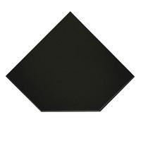ПРЕДТОПОЧНЫЙ ЛИСТ VPL021-R9005, 1100Х1100, ЧЕРНЫЙ (ВУЛКАН)