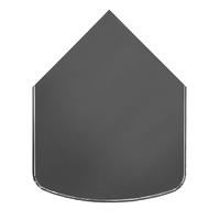 ПРЕДТОПОЧНЫЙ ЛИСТ VPL041-R7010, 1000Х800, СЕРЫЙ (ВУЛКАН)