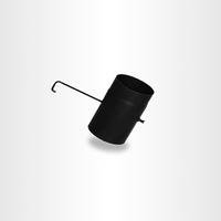 Шибер для дымохода из черного металла, Darco, Польша