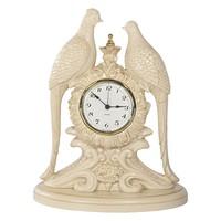 Часы настольные / каминные Павлины