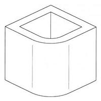 Элемент дымохода, окрашенный, H=26 (Palazzetti)
