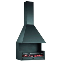 Барбекю Gourmet 80, сталь, окрашенный, черный (Fugar)