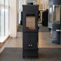 Печь Flensburg Top, черная (Thorma)