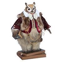 Филин Шопенгауэр - коллекционная кукла