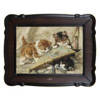Репродукция картины Котята и веер