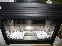 Топка EDF 2000-BB, черная рамка (Hark)