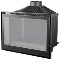Топка LCI 76 GF BG, черное стекло (Liseo Castiron)