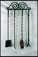 Набор каминный подвесной 4 предмета