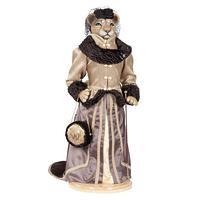 Львица Мадам Лили - коллекционная кукла