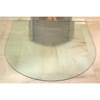 Предтопочный лист, большой полукруг, стекло (Hark)