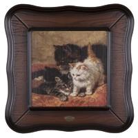 Репродукция картины Три котёнка