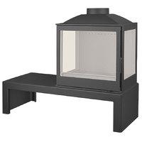 Печь LCI 5 GFLR Table, два боковых стекла (Liseo Castiron)