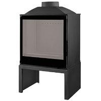 Печь LCI 5 GF BG Stove, черное стекло (Liseo Castiron)
