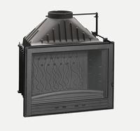 Топка Invicta 700 Compact с шибером (Топка Инвикта 700 Компакт)