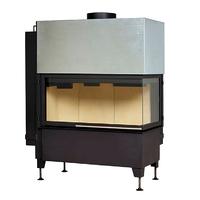 Топка Radiante 550/20/45-89.44 H, черная рамка, правая (Hark)