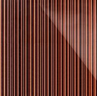Стеклянная плитка Barcode 3D коричневый 200 х 300 мм, Artpole, Россия