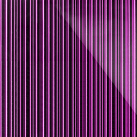 Стеклянная плитка Barcode 3D лиловый 200 х 300 мм, Artpole, Россия