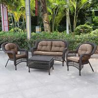 Плетеный комплект мебели из ротанга LV520BG