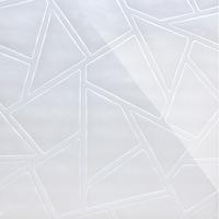 Стеклянная панель Nets 3D белый 600 х 600 мм, Artpole, Россия