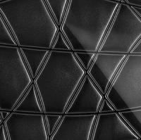 Стеклянная панель Nets 3D черный 600 х 600 мм, Artpole, Россия