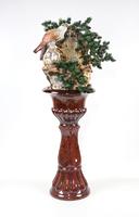 Напольный фонтан Орел Классика коричневый, Россия