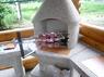 Подвесной мангал с 6 шампурами