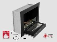 Портальный полуавтоматический биокамин Фаер Бокс 4-25.5