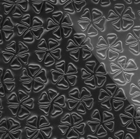 Стеклянная плитка Redbud 3D черный 300 х 200 мм, Artpole, Россия