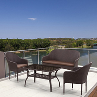 Плетеный комплект мебели из ротанга S20B-2/ S20B-1/ ST20B