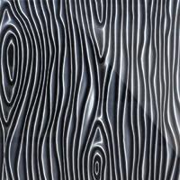 Стеклянная панель Structure 3D черный 600 х 600 мм, Artpole, Россия