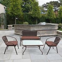 Плетеный комплект мебели из ротанга TLH-037/037D/40S