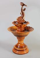 Напольный фонтан Царь-рыба коричневый , Россия