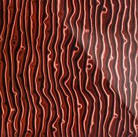 Стеклянная панель Tree 3D коричневый 600 х 600 мм, Artpole, Россия