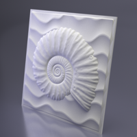 3D панель гипсовая Underwater, Artpole, Россия