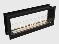 Встроенный биокамин Lux Fire Сквозной 1130 S