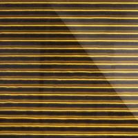Стеклянная плитка Vertical 3D золото 300 х 200 мм, Artpole, Россия