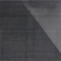 Стеклянная плитка Vertical 3D черный 300 х 200 мм, Artpole, Россия