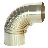 Отвод 90° латунь d120 (Sergio Leoni)