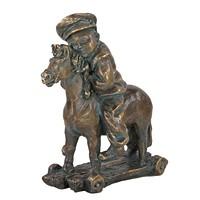 Статуэтка Мальчик на лошадке