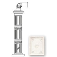 Колонна керам. 114см, цвет L1, white (Sergio Leoni)