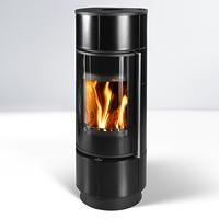 Печь ATIKA Extra Ceramic, черная (Thorma)