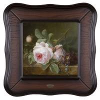 Репродукция картины Розы на каменной столешнице