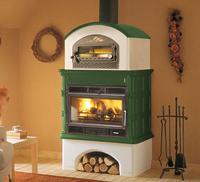 Печь Ingrid с духовкой, verde ventilated (Palazzetti)