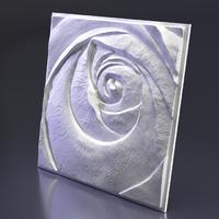 3D панель гипсовая Rose, Artpole, Россия